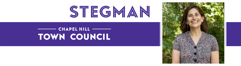 Karen Stegman logo with portrait